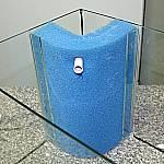 Filterrohr in Schwamm