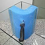 Keuzschnitt für Filterrohr