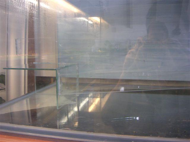 Glasstreifen für Terrassen