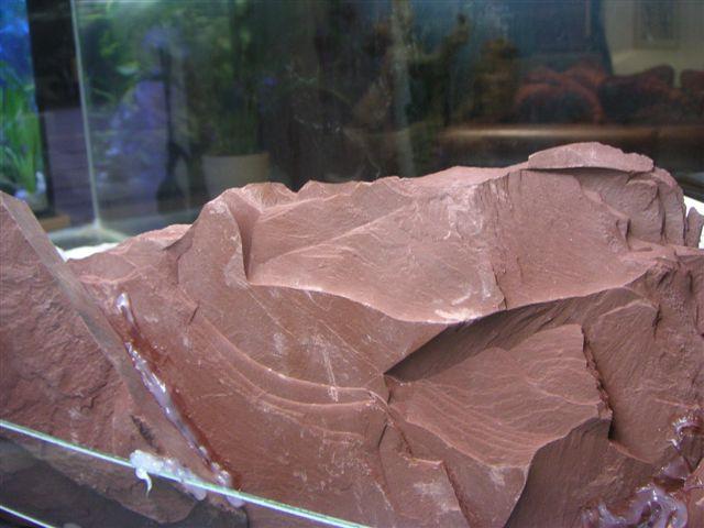 Befestigen der Steinplatten